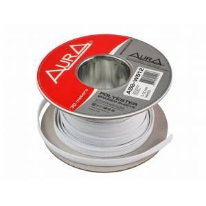 Кожух для кабеля полиэстеровый AurA ASB-512 WHITE