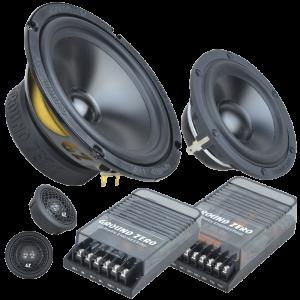 3-компонентная акустика Ground Zero GZRC 165.3SQ