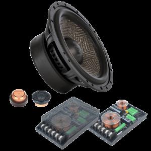 2-компонентная акустика Ground Zero GZUC 650SQ-II