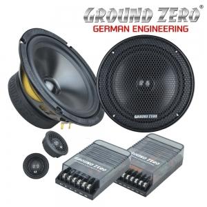 2-компонентная акустика Ground Zero GZRC 165.2SQ